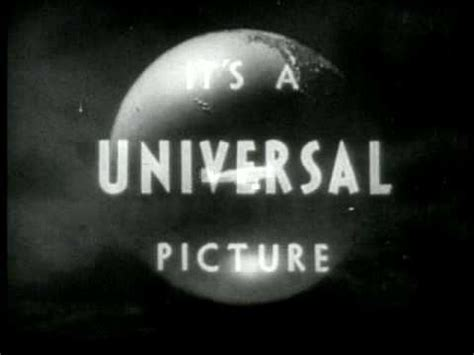 Universal Pictures 'The End' logo (1933 - 1936) - YouTube