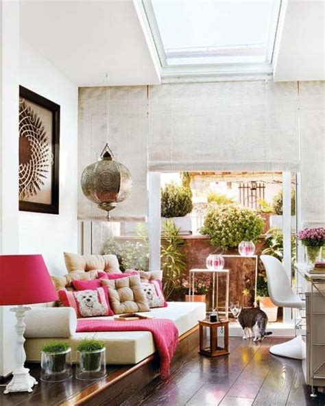 40 Floppy But Refined Boho Chic Home Office Designs - DigsDigs