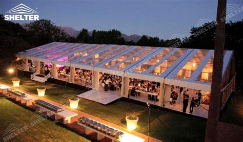 clear top tent - large party marquee for sale - luxury