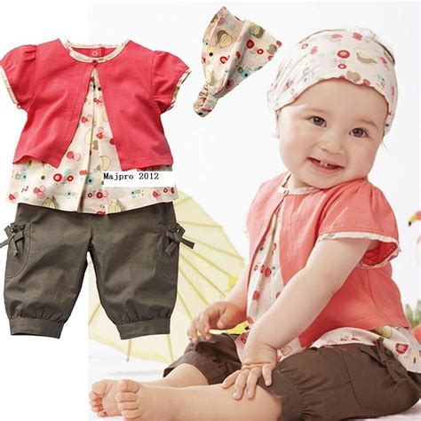 Baby Girl Clothes 0-3 3-6 6-9 9-12 12-18 24 Months 3pcs