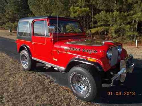 Sell used Jeep CJ7 Golden Eagle in Easley, South Carolina