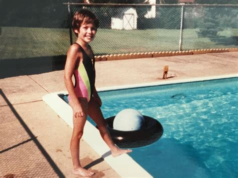 """Dylan Dreyer on Twitter: """"First full day of summer, pool"""