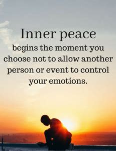 at peace with myself meaning - The Joy Within
