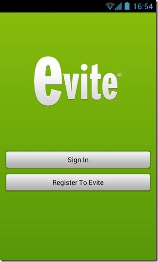 Evite For Android: Create & Send Event Invitation Cards In