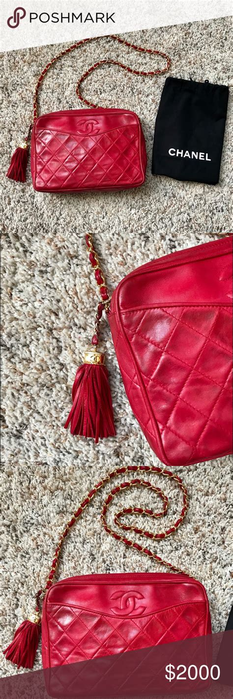 Chanel this is an authentic CHANEL Vintage Lambskin