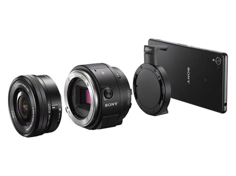Sony Unveils iPhone-Compatible QX1 Lens Mount and QX30