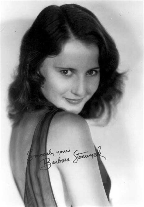 Barbara Stanwyck lovely star for 59 years