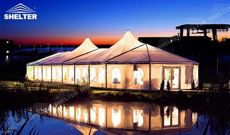 Mixed Party Tent Marquee for Grand Wedding / Prom Party