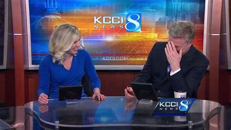 Anchors get the giggles over honking dog