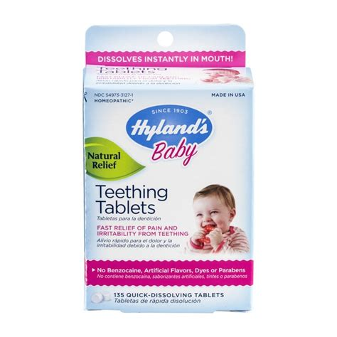 Hyland's Baby Teething Tablets - 135 CT (135 ct) from CVS
