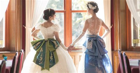 These Two Brides Had Their Disney Dream Wedding And It's