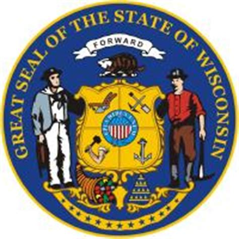 Wisconsin Flag and Description and Wisconsin Seal