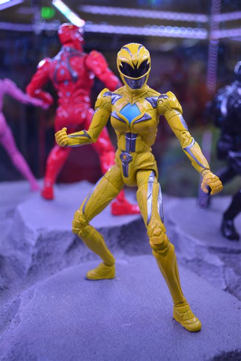 SDCC16: Power Rangers Action Figures Show New Movie Look
