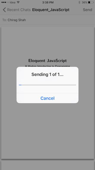 How to Share PDF Files Using WhatsApp on iPhone