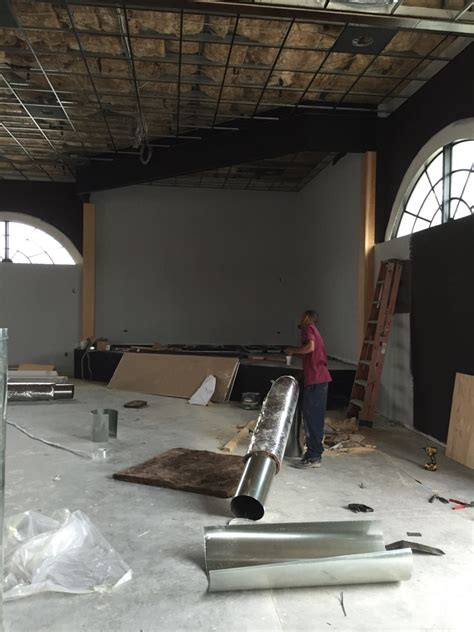 The Grouse Room Progress – Developing Lafayette