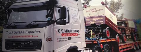GS Mountford | Used Commercial Truck Sales | Crayford, Kent