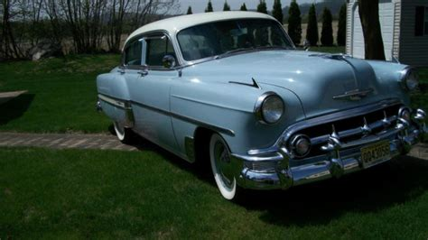Two tone blue and white for sale - Chevrolet Bel Air/150