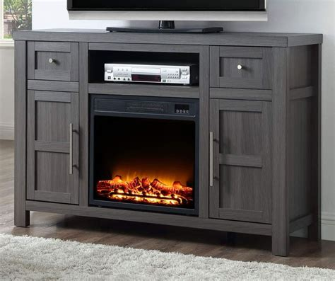 Charcoal Electric Fireplace Console   Big Lots in 2020