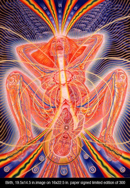 Alex Grey - Unexplained Mysteries Image Gallery