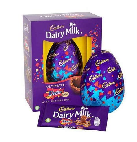 Tesco Is Selling A Huge Easter Egg With Daim Bar Chunks In