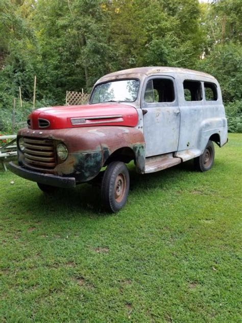 1950 Ford Panel Truck - Classic Ford Other Pickups 1950