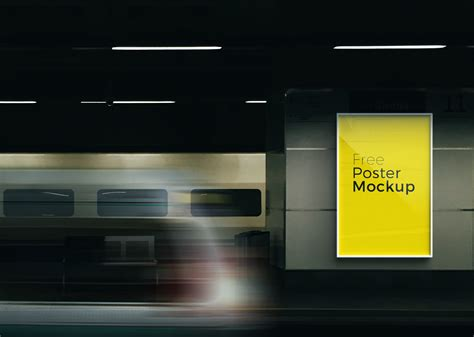 6 Free Poster & Billboard Mock-up For Advertisement