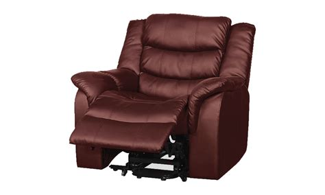 Luxury Heat Massage Riser Recliner chair in Bonded Leather