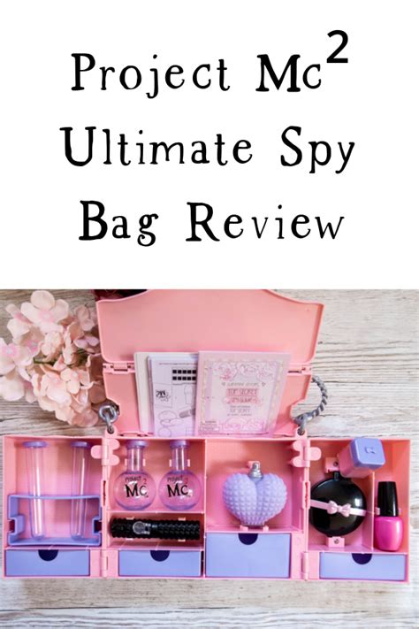 Project Mc² Ultimate Spy Bag Review (Adrienne Attoms' Spy