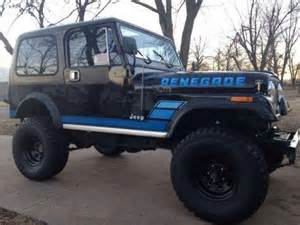cj7 black jeep renegade with blue lettering - Google Search