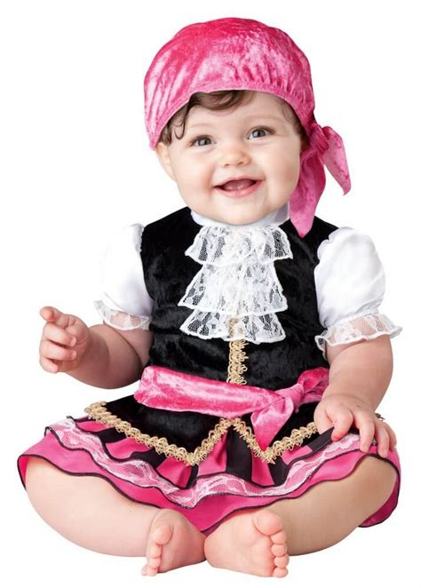 Infant/Toddler Pretty Little Pirate - Baby Girl Costumes