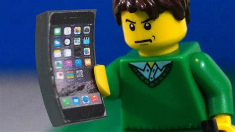 LEGO iPhone 6 Crazy Bend Test - YouTube
