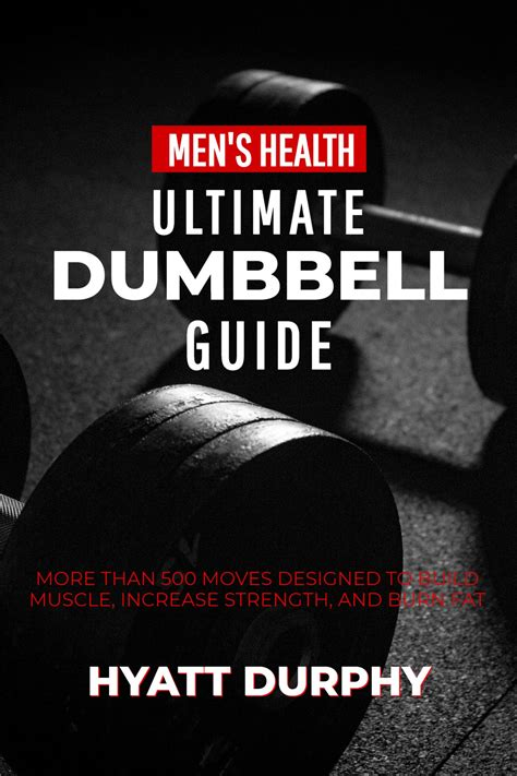 Dumbbell Gym Workout Book Cover Template - Mediamodifier