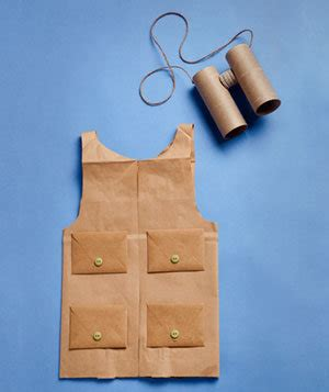 How To: Make a Vest   Easy DIY Halloween Costumes   Real