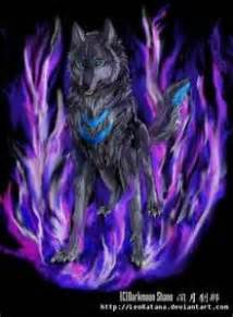 white wolf with fire | Wolf with blue eyes, Celtic zodiac