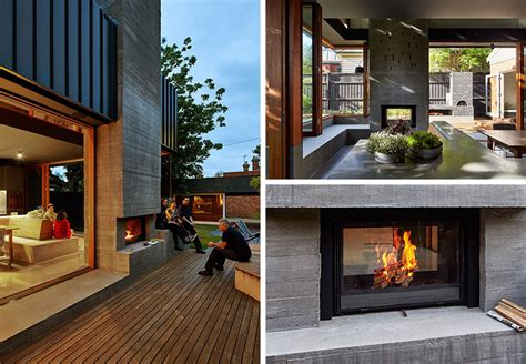 13 examples of how to include a double-sided fireplace