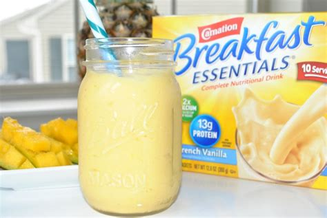 Tropical Breakfast Smoothie