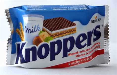 Knoppers 25g | CONFECTIONERY  Storck OFFER  SWEETS