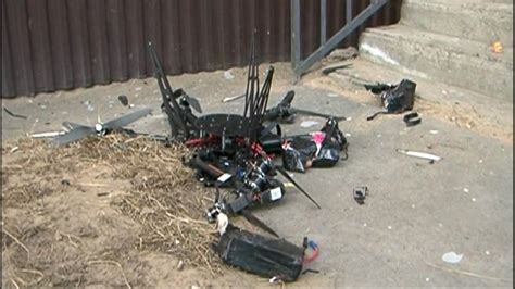 Mail drone crashes in a not-so-special delivery Video