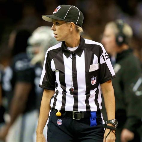 NFL's 1st Female Official, Sarah Thomas, Broke Barriers
