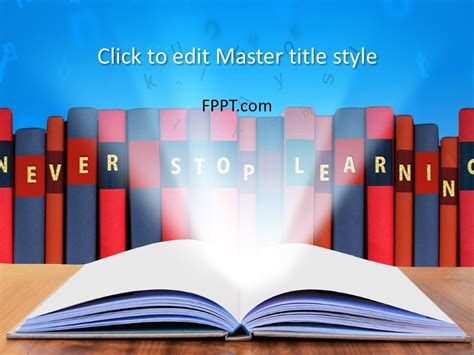 Free Learn PowerPoint Template - Free PowerPoint Templates