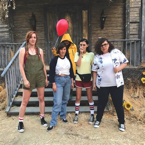 Losers Club   Clever costumes, Cute halloween costumes