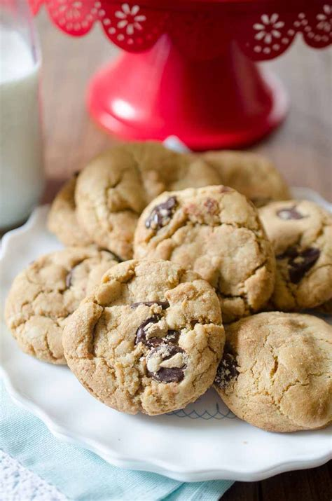 Biscoff and Dark Chocolate Chip Cookies - Life's Ambrosia
