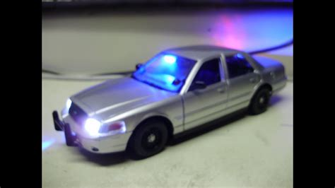 Custom 1:24 scale FORD CROWN VIC unmarked/ slicktop police