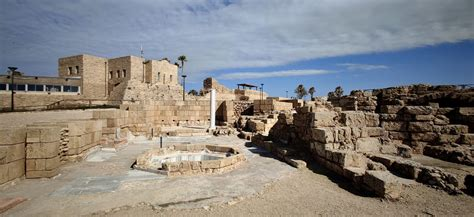 Visions of Caesarea National Park : Israel   Visions of Travel